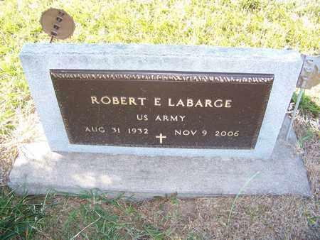 LABARGE, ROBERT   (VETERAN) - Cloud County, Kansas | ROBERT   (VETERAN) LABARGE - Kansas Gravestone Photos
