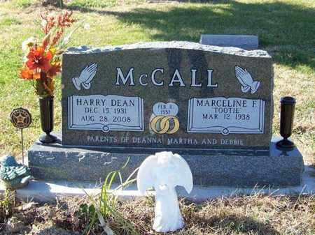 MCCALL, HARRY DEAN - Cloud County, Kansas | HARRY DEAN MCCALL - Kansas Gravestone Photos
