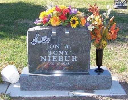 "NIEBUR, JON A ""TONY"" - Cloud County, Kansas | JON A ""TONY"" NIEBUR - Kansas Gravestone Photos"