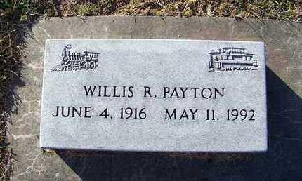 PAYTON, WILLIS ROGER - Cloud County, Kansas | WILLIS ROGER PAYTON - Kansas Gravestone Photos