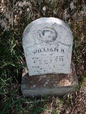 PORTER, WILLIAM H - Cloud County, Kansas   WILLIAM H PORTER - Kansas Gravestone Photos