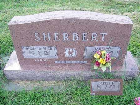 SHERBERT, DARKIS L - Cloud County, Kansas | DARKIS L SHERBERT - Kansas Gravestone Photos