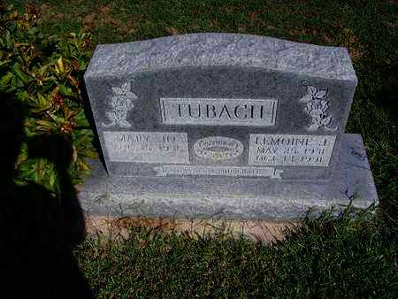 TUBACH, LEMOINE J - Cloud County, Kansas | LEMOINE J TUBACH - Kansas Gravestone Photos