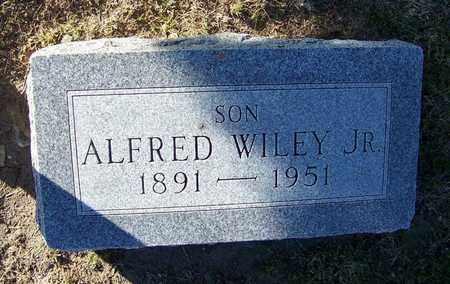 WILEY, ALFRED, JR - Cloud County, Kansas   ALFRED, JR WILEY - Kansas Gravestone Photos