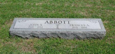 ABBOTT, JOHN STILLMAN - Cowley County, Kansas   JOHN STILLMAN ABBOTT - Kansas Gravestone Photos