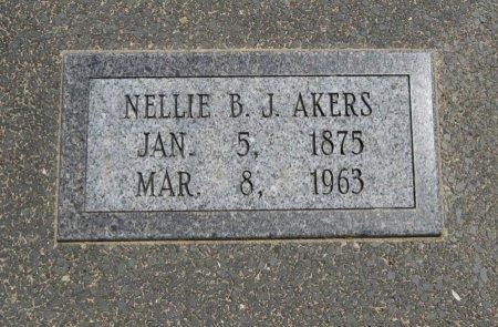 AKERS, NELLIE BROOKLYN JACKSON - Cowley County, Kansas | NELLIE BROOKLYN JACKSON AKERS - Kansas Gravestone Photos