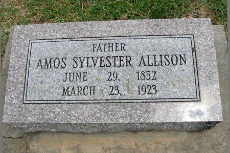 "ALLISON, AMOS SYLVESTER ""VES"" - Cowley County, Kansas   AMOS SYLVESTER ""VES"" ALLISON - Kansas Gravestone Photos"