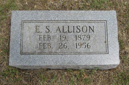 ALLISON, EDWAD SYLVESTER - Cowley County, Kansas | EDWAD SYLVESTER ALLISON - Kansas Gravestone Photos