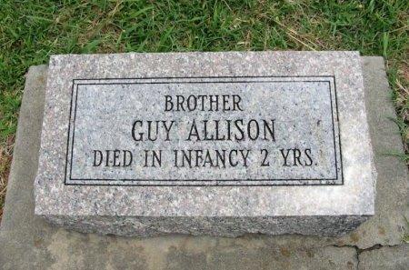ALLISON, GUY - Cowley County, Kansas | GUY ALLISON - Kansas Gravestone Photos