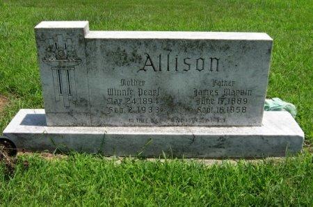 ALLISON, JAMES MARVIN - Cowley County, Kansas   JAMES MARVIN ALLISON - Kansas Gravestone Photos