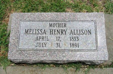ALLISON, MELISSA - Cowley County, Kansas | MELISSA ALLISON - Kansas Gravestone Photos