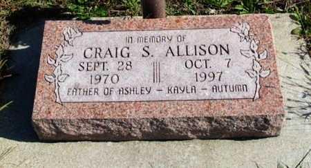 ALLISON, CRAIG STEVEN (VETERAN) - Cowley County, Kansas   CRAIG STEVEN (VETERAN) ALLISON - Kansas Gravestone Photos