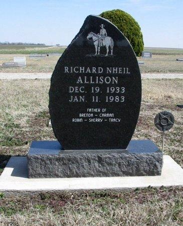 ALLISON, RICHARD NHEIL - Cowley County, Kansas   RICHARD NHEIL ALLISON - Kansas Gravestone Photos
