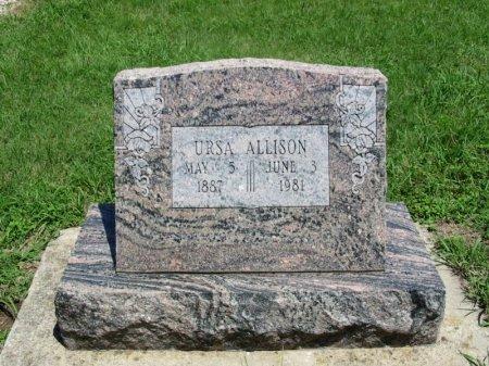 ALLISON, URSA - Cowley County, Kansas | URSA ALLISON - Kansas Gravestone Photos