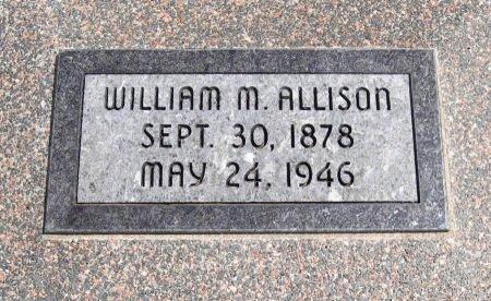 ALLISON, WILLIAM MARION - Cowley County, Kansas | WILLIAM MARION ALLISON - Kansas Gravestone Photos