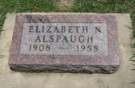 ALLSPAUGH, ELIZABETH NELL - Cowley County, Kansas | ELIZABETH NELL ALLSPAUGH - Kansas Gravestone Photos