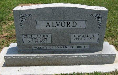 ALVORD, CECIL AUDINE - Cowley County, Kansas | CECIL AUDINE ALVORD - Kansas Gravestone Photos