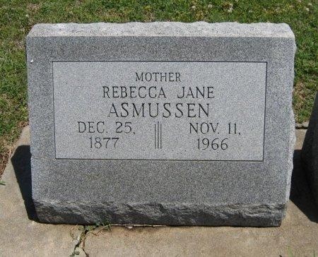 COBB ASMUSSEN, REBECCA JANE - Cowley County, Kansas   REBECCA JANE COBB ASMUSSEN - Kansas Gravestone Photos