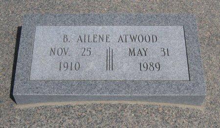 BROWER ATWOOD, BUELAH AILENE - Cowley County, Kansas   BUELAH AILENE BROWER ATWOOD - Kansas Gravestone Photos