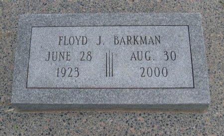 BARKMAN, FLOYD JACOB (VETERAN WWII) - Cowley County, Kansas | FLOYD JACOB (VETERAN WWII) BARKMAN - Kansas Gravestone Photos