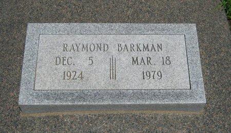 BARKMAN, RAYMOND ORVILLE (VETERAN WWII) - Cowley County, Kansas   RAYMOND ORVILLE (VETERAN WWII) BARKMAN - Kansas Gravestone Photos