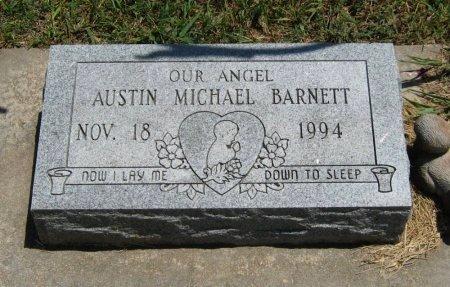 BARNETT, AUSTIN MICHAEL - Cowley County, Kansas | AUSTIN MICHAEL BARNETT - Kansas Gravestone Photos