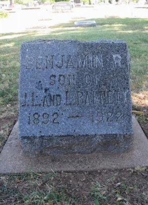 BARNETT, BENJAMIN RILEY - Cowley County, Kansas   BENJAMIN RILEY BARNETT - Kansas Gravestone Photos