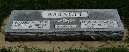"BARNETT, FLOSSIE MAY ""TED"" - Cowley County, Kansas | FLOSSIE MAY ""TED"" BARNETT - Kansas Gravestone Photos"
