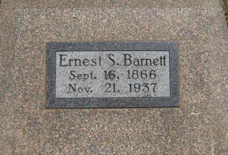 BARNETT, ERNEST SWIFT - Cowley County, Kansas   ERNEST SWIFT BARNETT - Kansas Gravestone Photos
