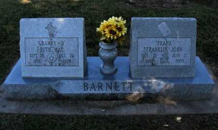 "BARNETT, FRANKLIN JOHN ""FRANK"" - Cowley County, Kansas | FRANKLIN JOHN ""FRANK"" BARNETT - Kansas Gravestone Photos"