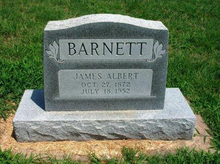 BARNETT, JAMES ALBERT - Cowley County, Kansas   JAMES ALBERT BARNETT - Kansas Gravestone Photos