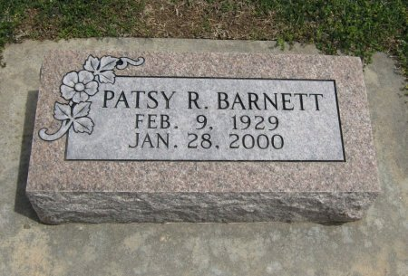 BARNETT, PATSY R - Cowley County, Kansas | PATSY R BARNETT - Kansas Gravestone Photos