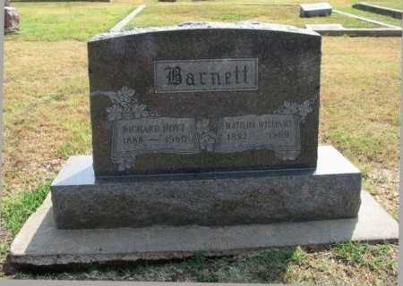 BARNETT, MATILDA F - Cowley County, Kansas | MATILDA F BARNETT - Kansas Gravestone Photos