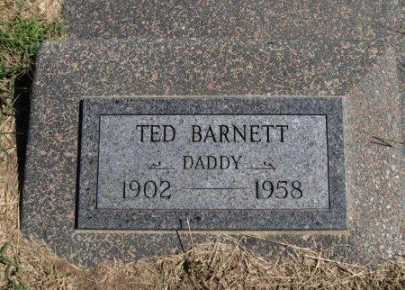BARNETT, TED R - Cowley County, Kansas | TED R BARNETT - Kansas Gravestone Photos