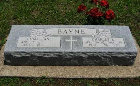 HOWARD BAYNE, EMMA JANE - Cowley County, Kansas | EMMA JANE HOWARD BAYNE - Kansas Gravestone Photos