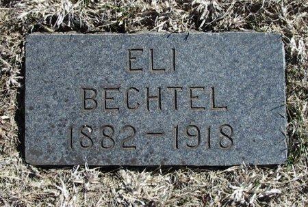 BECHTEL, ELI - Cowley County, Kansas | ELI BECHTEL - Kansas Gravestone Photos