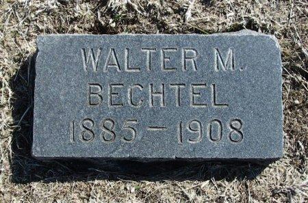 BECHTEL, WALTER M - Cowley County, Kansas | WALTER M BECHTEL - Kansas Gravestone Photos