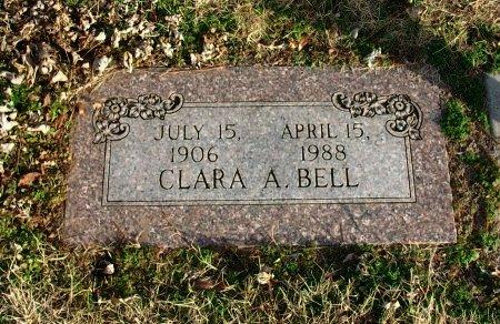 BELL, CLARA A - Cowley County, Kansas   CLARA A BELL - Kansas Gravestone Photos
