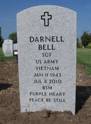 BELL, DARNELL (VETERAN VIET) - Cowley County, Kansas | DARNELL (VETERAN VIET) BELL - Kansas Gravestone Photos