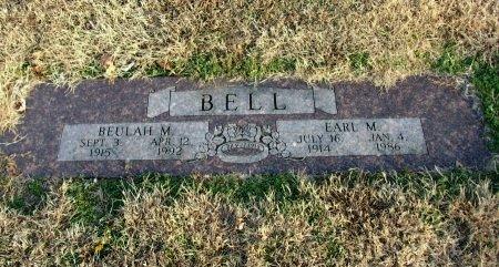 BELL, EARL MYRON - Cowley County, Kansas   EARL MYRON BELL - Kansas Gravestone Photos