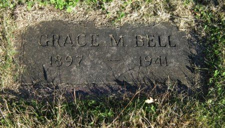 BELL, GRACE MINTA - Cowley County, Kansas   GRACE MINTA BELL - Kansas Gravestone Photos