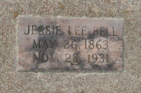 BELL, JESSIE LEE - Cowley County, Kansas | JESSIE LEE BELL - Kansas Gravestone Photos