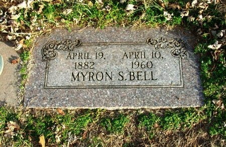 BELL, MYRON S - Cowley County, Kansas | MYRON S BELL - Kansas Gravestone Photos