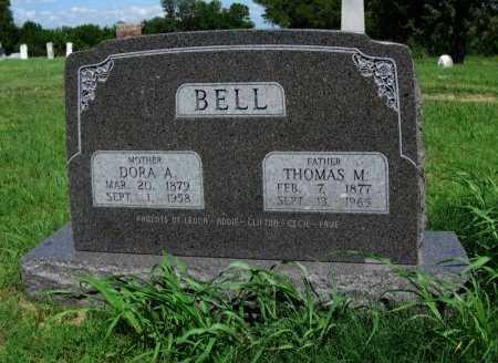 BELL, THOMAS M - Cowley County, Kansas   THOMAS M BELL - Kansas Gravestone Photos