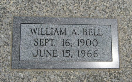 BELL, WILLIAM A  (VETERAN WWI) - Cowley County, Kansas | WILLIAM A  (VETERAN WWI) BELL - Kansas Gravestone Photos