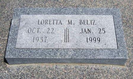 BELTZ, LORETTA M - Cowley County, Kansas   LORETTA M BELTZ - Kansas Gravestone Photos