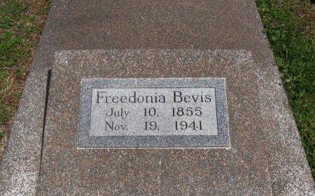BEVIS, FREEDONIA - Cowley County, Kansas   FREEDONIA BEVIS - Kansas Gravestone Photos