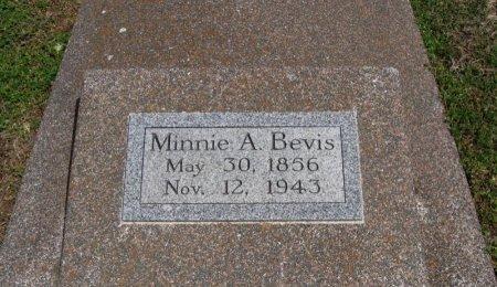 BEVIS, MINNIE A - Cowley County, Kansas   MINNIE A BEVIS - Kansas Gravestone Photos