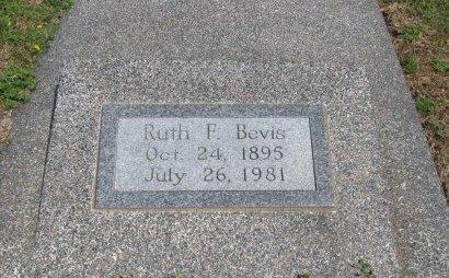 BEVIS, RUTH D - Cowley County, Kansas   RUTH D BEVIS - Kansas Gravestone Photos