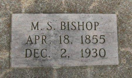 BISHOP, MILLARD S - Cowley County, Kansas   MILLARD S BISHOP - Kansas Gravestone Photos